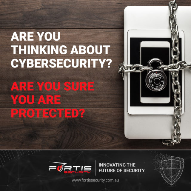 Are you thinking about cybersecurity? Are you sure you're protected?