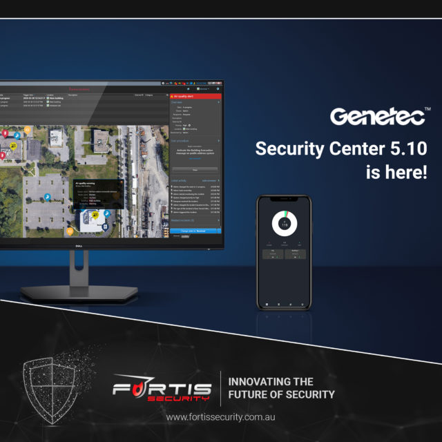 Have you seen the latest version of Genetec Security Centre?