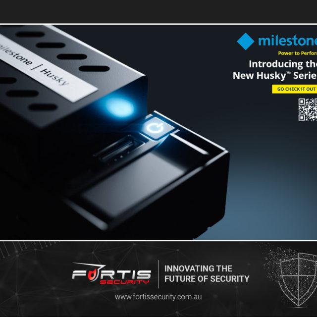 Milestone introduces the new Husky IVO Series