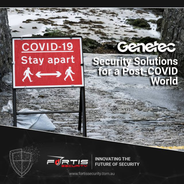 Security Solutions for a Post-COVID World
