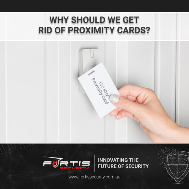 Why should we get rid of proximity cards?