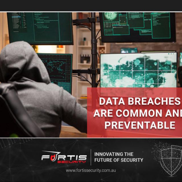 Data breaches are common and preventable