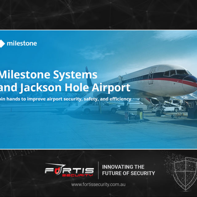 Milestone Systems and Jackson Hole Airport join hands to improve airport safety, security and efficiency